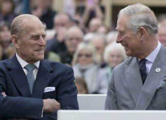 Prinz Philip und Prinz Charles bei einem gemeinsamen Auftritt 2016