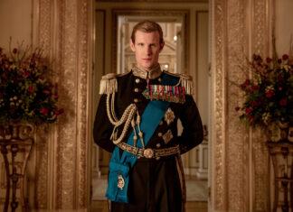 "Matt Smith als Prinz Philip in ""The Crown""."