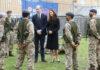Prinz William und Herzogin Kate während ihres Besuchs in London