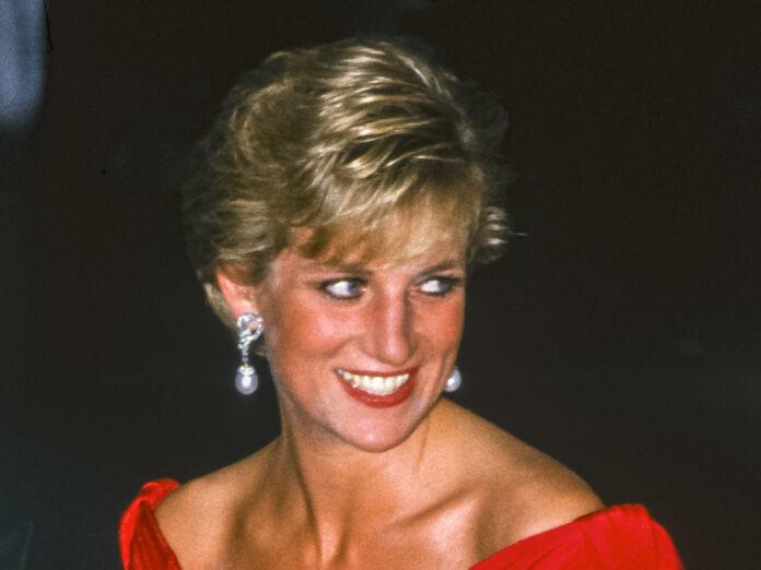 Prinzessin Diana bei einem Auftritt 1990