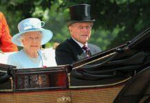 Queen Elizabeth II. und Prinz Philip im Juni 2017 in London