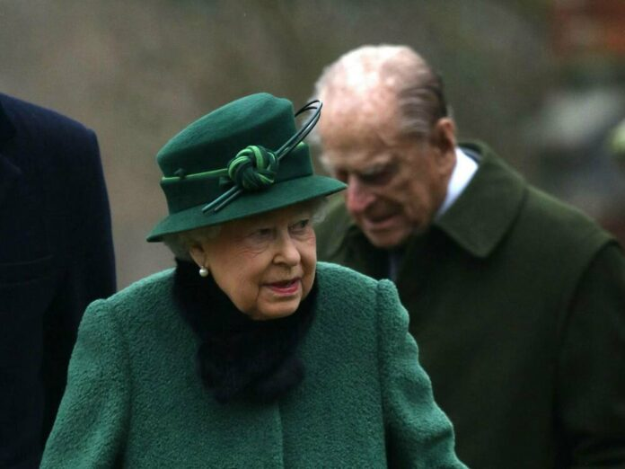 Queen Elizabeth II. und Prinz Philip im Jahr 2018