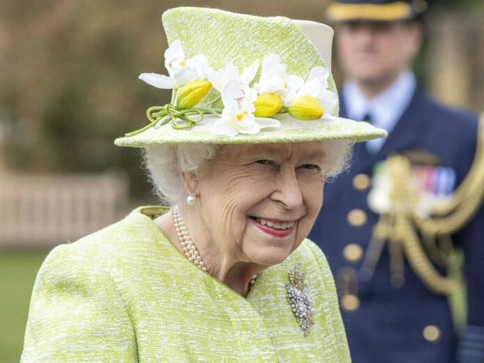 Queen Elizabeth II. während eines öffentlichen Auftritts vor wenigen Tagen