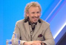 """Entertainer Thomas Gottschalk am Mittwochabend bei """"maischberger. die woche"""""""