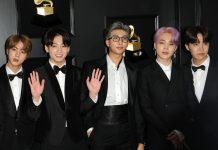 BTS bei den 61. Grammy Awards in Los Angeles