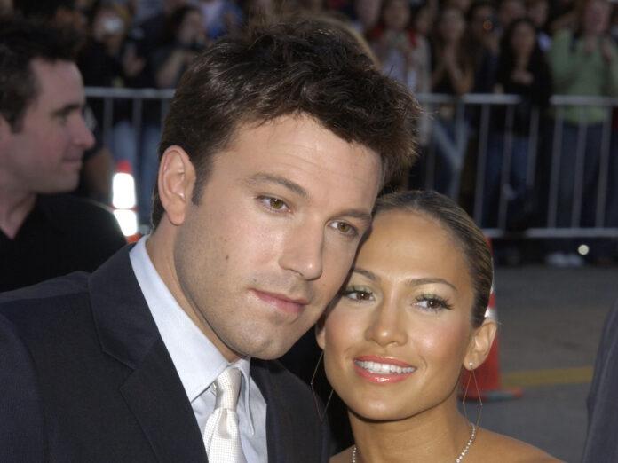 Ben Affleck und Jennifer Lopez 2003 bei der Premiere seines Films