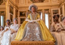 """""""Bridgerton"""": Golda Rosheuvel als Queen Charlotte in Staffel eins der Netflix-Hitserie"""