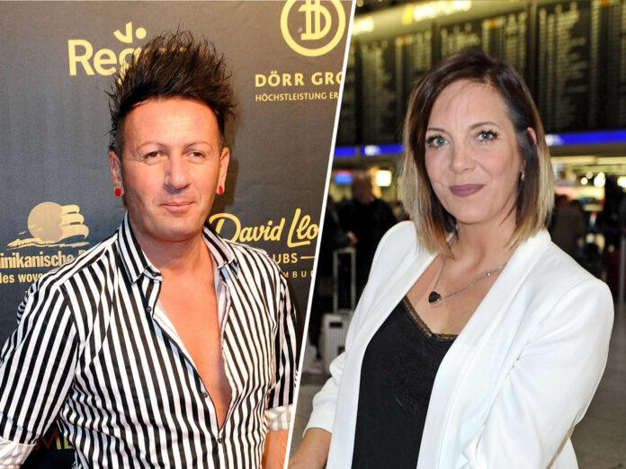 Ennesto Monté (l.) und Danni Büchner führten sechs Monate eine On-Off-Beziehung.