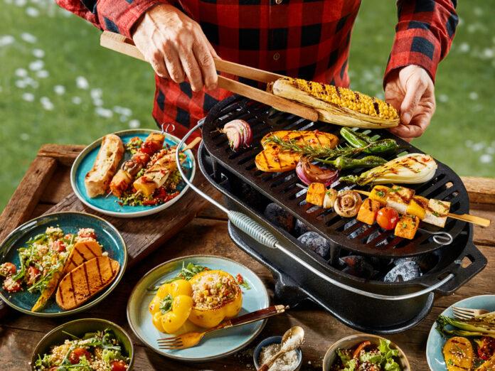 Vegetarier müssen beim Grillen nicht zwingend zu kurz kommen.
