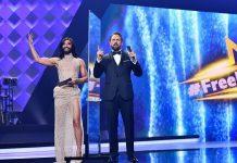 """Conchita Wurst und Steven Gätjen moderieren erneut den """"Free ESC""""."""
