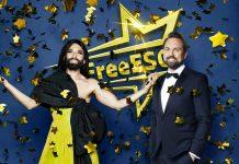 Steven Gätjen und Conchita Wurst führten erneut durch den launigen Musikabend