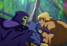 """Skeletor und He-Man kämpfen in der neuen Serie """"Masters of the Universe: Revelation""""."""