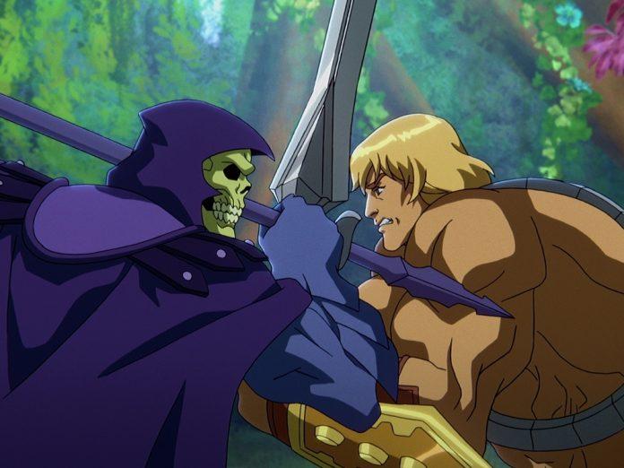 Skeletor und He-Man kämpfen in der neuen Serie