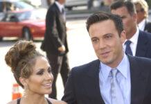"""Ben Affleck und Jennifer Lopez 2003 bei der Premiere ihres Films """"Liebe mit Risiko - Gigli""""."""