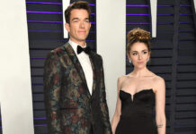 """John Mulaney und Annamarie Tendler bei der """"Vanity Fair""""-Oscar-Party 2019."""