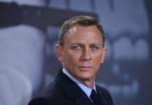 """Daniel Craig während der """"James Bond 007: Spectre""""-Premiere in Berlin"""