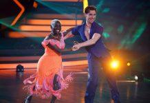 """Barack Obamas Halbschwester Auma schaffte es nicht ins """"Let's Dance""""-Halbfinale."""