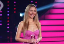 "Moderatorin Victoria Swarovski im ""Let's Dance Kids""-Halbfinale."