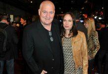 Markus Maria Profitlich und Ingrid Einfeldt beim Deutschen Comedypreis 2012.