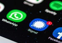 Immer mehr Nutzer wandern zum Messenger Signal ab.