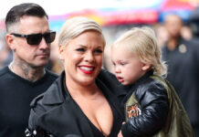 Pink und ihr Sohn Jameson erkrankten im März 2020 am Coronavirus.