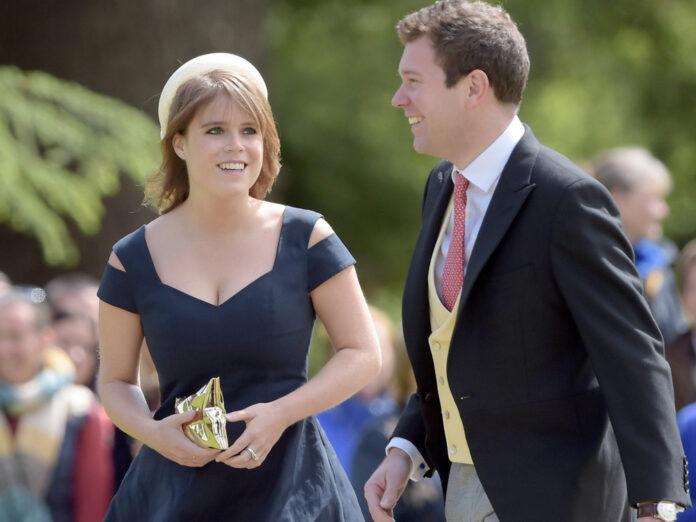 Prinzessin Eugenie macht ihrem Ehemann Jack Brooksbank ein süßes Kompliment auf Instagram.