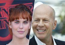 Tallulah Willis und ihr Vater Bruce Willis sehen sich ähnlich.