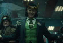 """Tom Hiddleston in der neuen Marvel-Serie """"Loki""""."""