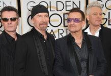 U2 bei den Golden Globe Awards in Los Angeles