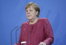 Angela Merkel drückt dem deutschen Team bei der UEFA EURO 2020 die Daumen.