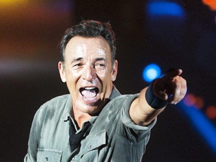 Bruce Springsteen gibt wieder seine beliebten