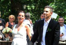 Bushido und Anna-Maria Ferchichi bei ihrer Hochzeit 2012.