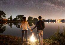 Direkt unter dem Sternenzelt campieren - gibt es etwas Schöneres?