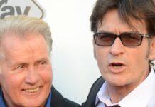 Schauspieler Charlie Sheen trat beruflich in die Fußstapfen seinen Vaters Martin.