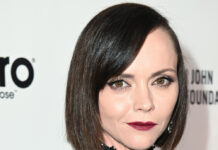 Christina Ricci bei Elton Johns AIDS Foundation Party in Los Angeles