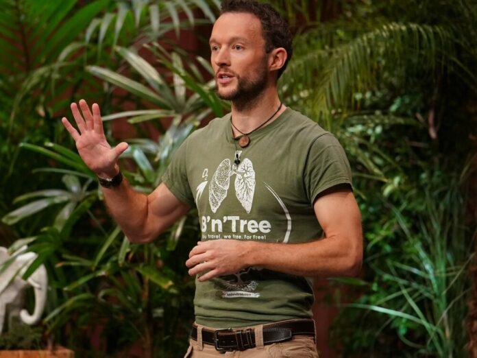 Chris Kaiser stellt sein Start-up B'n'Tree vor.