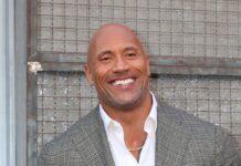 """Dwayne """"The Rock"""" Johnson während eines Events in Los Angeles"""