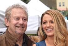 Ernie Lively mit seiner Tochter Blake im Jahr 2016 in Los Angeles.