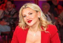 Evelyn Burdecki während einer TV-Aufzeichnung im vergangenen Jahr