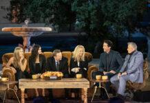 """Die """"Friends""""-Stars während ihrer großen Reunion"""