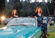 """""""Thelma & Louise""""-Reunion mit den Schauspielerinnen Susan Sarandon (r.) und Geena Davis."""