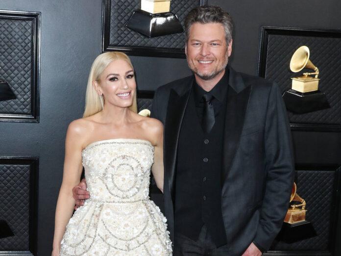 Gwen Stefani und Blake Shelton bei einem Event in Los Angeles 2019.