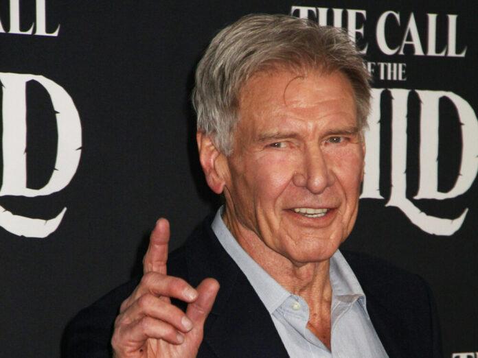 Harrison Ford 2020 auf dem roten Teppich