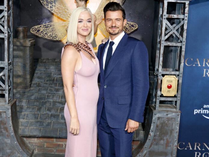 Katy Perry und Orlando Bloom bei einer Serien-Premiere in Hollywood 2019.