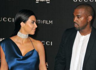 Kim Kardashian und Kanye West 2014 auf dem roten Teppich