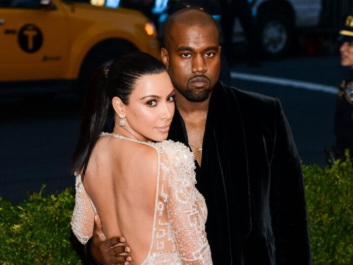 Kim Kardashian und Kanye West im Jahr 2015