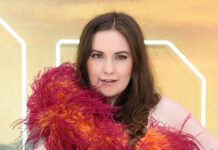 """Lena Dunham bei der Premiere von """"Once Upon a Time in Hollywood"""" in London"""