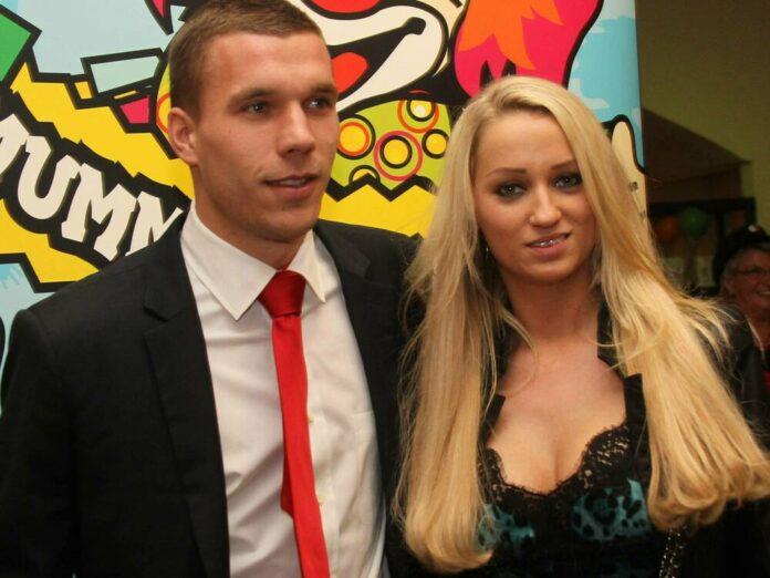 Lukas Podolski und Ehefrau Monika heirateten 2011.