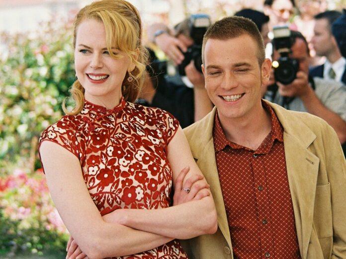 Nicole Kidman und Ewan McGregor auf dem Filmfestival in Cannes 2001
