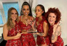 Die No Angels freuen sich über ihre Spitzenplatzierung in den Album-Charts